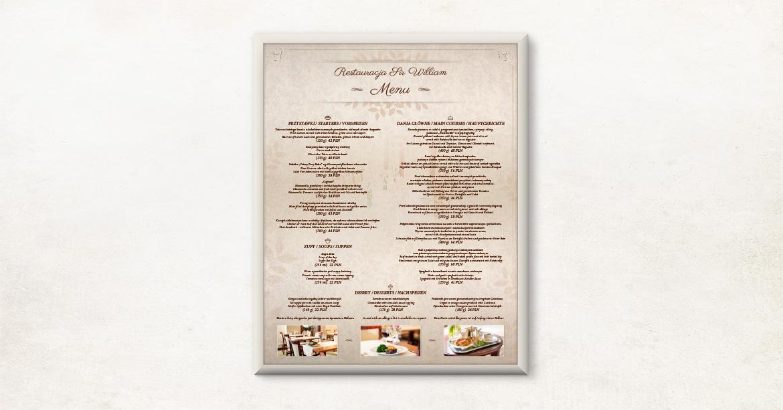 be-menu-plakat